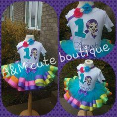 bubble mermaid tutu set by AMcutetutuboutique on Etsy https://www.etsy.com/listing/222347053/bubble-mermaid-tutu-set