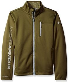 Under Armour Outerwear Boys CGI Softershell Jacket -- Check out @