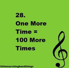Every. Single. Time.