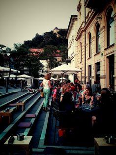 Dvorni bar in Ljubljana, Ljubljana (NYT)