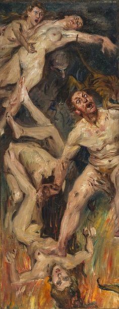 Lovis Corinth - Hell (1901)