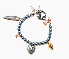 MAIDEN-ART Black Pearl Bracelet
