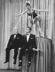 Lucille Ball, Desi Arnaz & William Frawley..... I Love Lucy 1950's