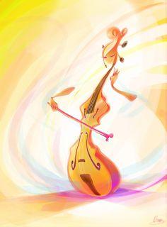 Cello girl by ~zgul-osr1113