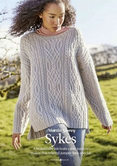 "Photo from album ""The Knitter December"" on Yandex. Knitting Magazine, Crochet Magazine, Cable Sweater, Cable Knit, Knit Sweaters, Pullover Sweaters, Cardigans, Knitting Patterns, Crochet Patterns"