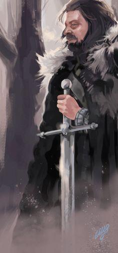 Ned Stark - Game of Thrones - María Emegé