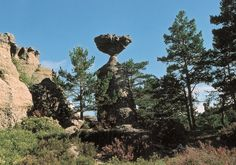 Quintanar de la Sierra (Burgos-España). Forma relicta producida por la acción erosiva diferencial del agua en calizas. Autor: Eufrasio Camarero María. #geology #geología #geologos #geologists
