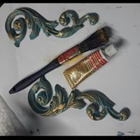 Ornate Scroll Pair - is one of the Irish Handmade Decorative Mouldings available on line @ www. Decorative Mouldings, Moldings, Handmade Decorations, Appliques, Door Handles, Shabby, Pairs, Photos, Stuff To Buy