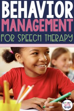Behavior Management for Speech Therapy