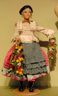 Doll From Mexico by Teyacapan, via Flickr