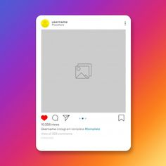 Instagram Feed, Save Instagram Photos, Free Instagram, Instagram Posts, Instagram Fashion, Card Templates, Flyer Template, Instagram Likes And Followers, 3d Foto