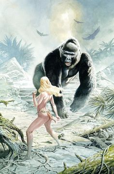 King Kong by J.G. Jones