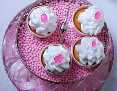 "Passion 4 baking ""The Best triple vanilla cupcakes with fluffy vanilla Italian meringue frosting"