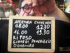 Ecco i nuovi orari della Cioccolateria Tavoletta a partire dal 2 marzo 2016 a quando cambio idea Www.cioccolatotavoletta.it