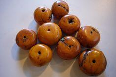 Polymer Clay Amber Beads - Leslie Aja