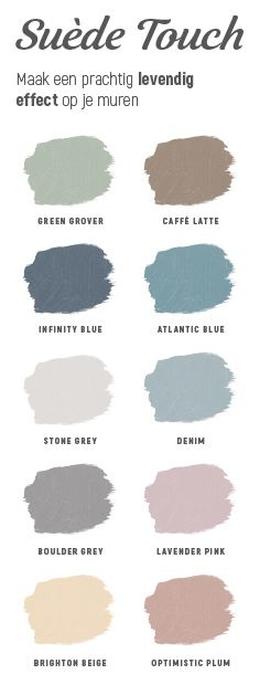 Now easily give your wall a look that is and # rugged in a ., Now easily give your wall a look that is and in one of these popular colors. Which color would you go for? Colour Pallete, Colour Schemes, Wall Colors, House Colors, Colours, Color Inspiration, Interior Inspiration, Industrial Living, New Room