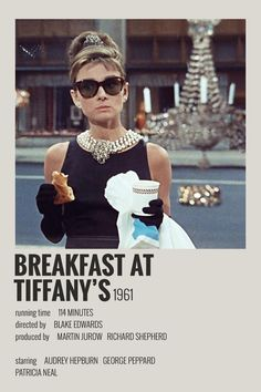Alternative Minimalist Movie/Show Polaroid Poster Breakfast at Tiffanys Iconic Movie Posters, Minimal Movie Posters, Minimal Poster, Movie Poster Art, Iconic Movies, Poster Wall, Best Indie Movies, Movie Collage, Poster Layout