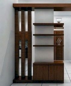 Amazing design of the partition beautiful space - Homemidi Room Partition Wall, Living Room Partition Design, Living Room Divider, Room Partition Designs, Living Room Tv Unit Designs, Wall Mounted Dressing Table, Kitchen Cabinets Home Depot, Modern Tv Wall Units, Sitting Room Decor