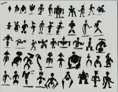 Art of Anthony Handy: Silhouette Thumbnails  ★ || CHARACTER DESIGN REFERENCES™ (https://www.facebook.com/CharacterDesignReferences & https://www.pinterest.com/characterdesigh) • Love Character Design? Join the #CDChallenge (link→ https://www.facebook.com/groups/CharacterDesignChallenge) Share your unique vision of a theme, promote your art in a community of over 50.000 artists! || ★