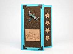 All Occasion Card with Removable Bookmark by GwensHomemadeGifts