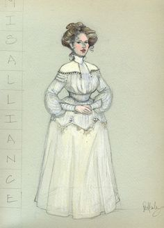 Misalliance (Mrs. Tarleton). American Players Theatre. Costume design by Rachel Anne Healy.
