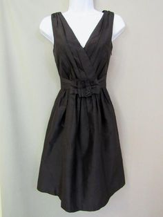 White House Black Market Dress 0 Silk Cocktail Sundress New #WhiteHouseBlackMarket #SexySundress #Cocktail