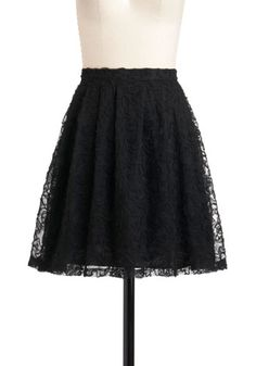 We Just Mesh Skirt, #ModCloth