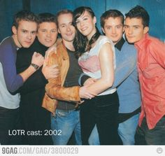 Just some of LOTR cast..