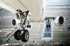 Landing gear view