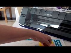 I spent ages this morning recording a video showing how to cut vinyl on the ScanNCut but something went wrong and I lost the video. So I had to start again, this video is only short but shows the b…