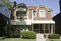 Stevie Wonder's former home on Greenlawn, Detroit, MI