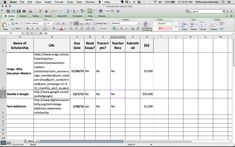 Organize Your Scholarship Search With Free Spreadsheet - College Prepped