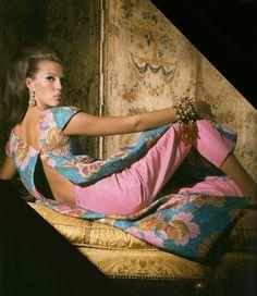 1965 ensemble created by Bill Blass.