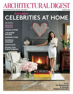Image result for architectural digest magazine cover March 2014