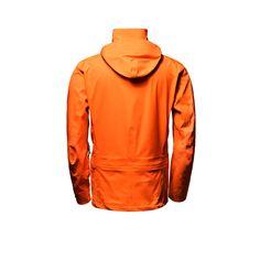 men's altitude jacket orange back