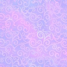 Lilac Ombre Scroll fabric from Quilting Treasures. Pattern designed by Studio 8. This print features tonal patterns with subtle variations of lilac and pink. Perfect for quilting, crafts, and home decor.