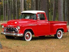 '57 Chevy 1300 Truck. I love Classic Cars <3. CLICK THE IMAGE or Check Out my…