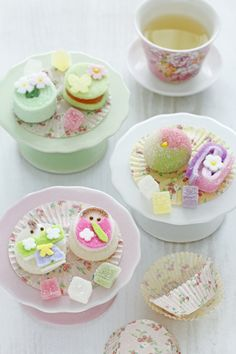 Japanese Sweets ♪ for Hina-matsuri (Japanese Girls' Day)