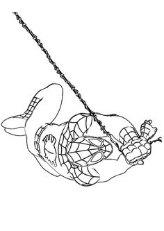 The Spiderman Ready Coloring Page Superhero Coloring Pages, Spiderman Coloring, 4 Kids, Coloring For Kids, Coloring Sheets, Pose, Facebook, Drawing, Spiderman Face