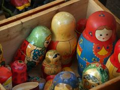 Matriochkas by Cécile Cros - Ceciledalbas on flickr. All rights reserved.