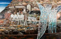The surreal and sprawling landscapes of Australian artist Jan Senbergs – in pictures