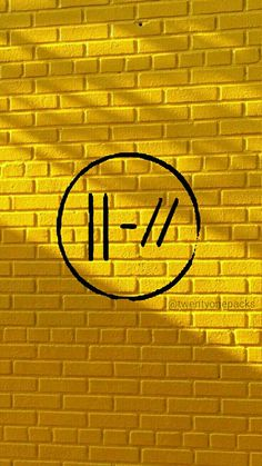 Yellow Aesthetic Wallpaper Twenty One Pilots 48 Ideas Tyler Joseph, Emo Bands, Music Bands, Twenty One Pilots Logo, Twenty One Pilots Wallpaper, Josh Dun, Women In History, Ancient History, Fall Out Boy