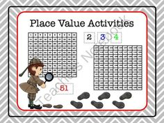 Free Place Value Activities from mrelementarymath on TeachersNotebook.com -  (21 pages)  - Free place value packet for grades 1st grade, 2nd grade and 3rd grade teachers.