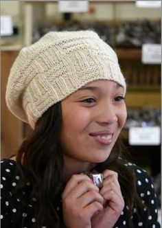 Slouch Potato Knit Hat Pattern, As Seen on Knitting Daily TV with Vickie Howell, Episode #1301 - Knitting Daily