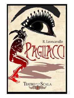 Leoncavallo Opera Pagliacci Art Print