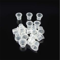 1000 x 13mm MEDIUM TATTOO INK CUP / CAP . ALL SUPPLIES UK super fast delivery! | eBay - - - £13.49 - - -