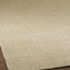 Wool Sisal Rugs   Solid Color Wool Sisal Look Rug: 4 Colors