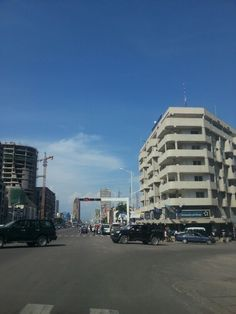 Downtown Kinchasa