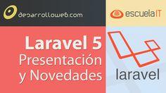 #laravelIO dedicado a las novedades de Laravel 5. Vídeo en YouTube: http://youtu.be/6WV3MfPVSwQ