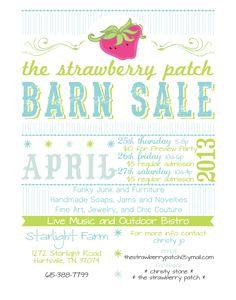 best barn sale ever! #vintage #repurposed #handmade